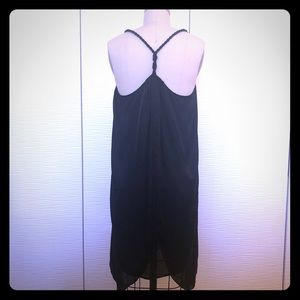 Dresses & Skirts - Cute Black Silky & Flowy Summer Dress S